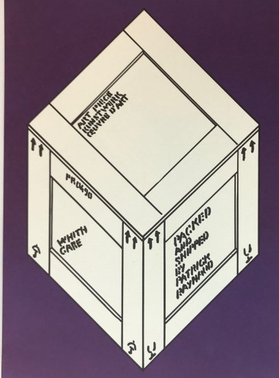"Patrick Reynaud Original Lithograph 14.5 x 10.5 inch ""N14-2"" printed 1988"
