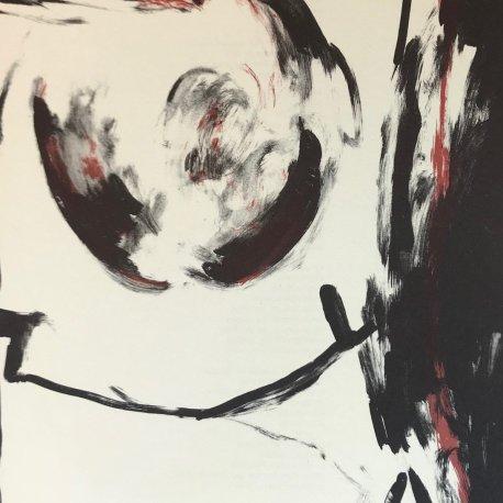 "Jose-Maria Sicilia Original Lithograph 14.5 x 10.5 inch ""N4-2"" printed 1988"