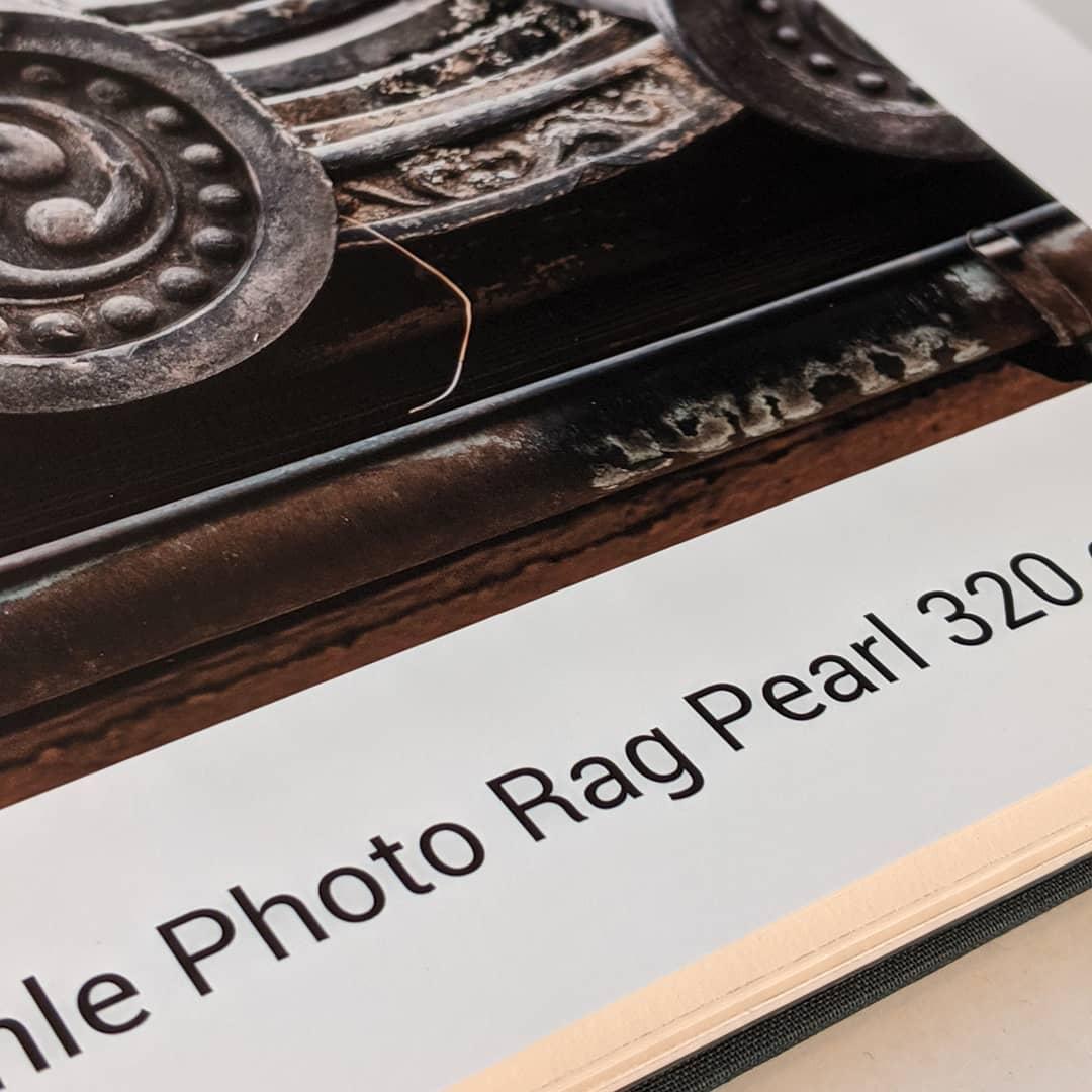 photo rag pearl
