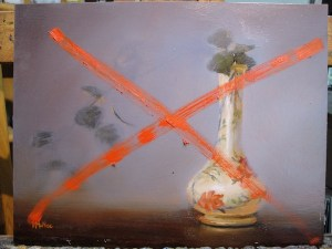 creative disaster painting