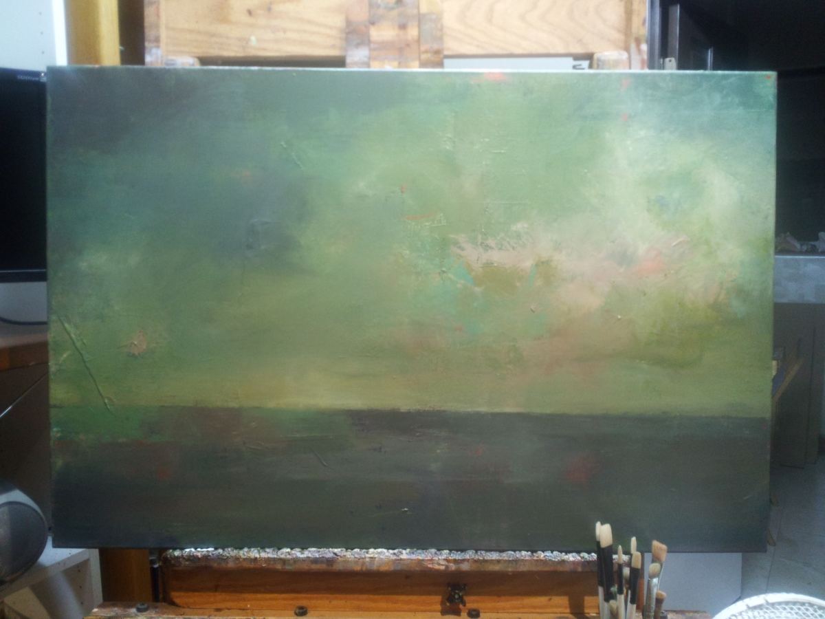 Knife Painting Landscapes