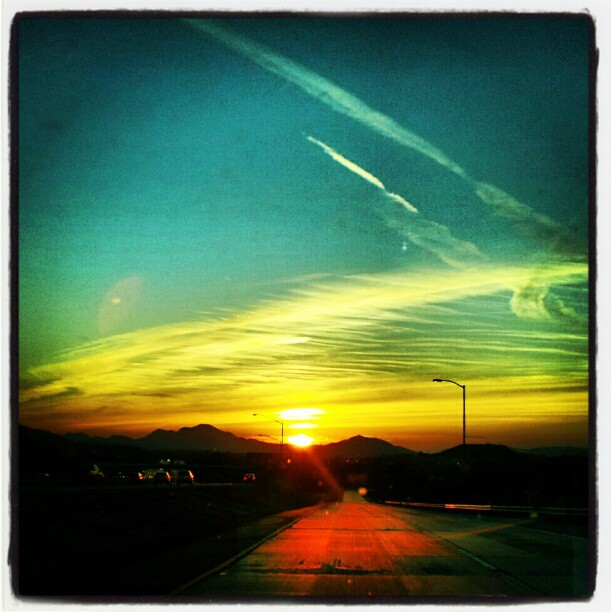 ventura freeway instagram photo sunset