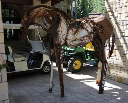 deborah butterfield horse