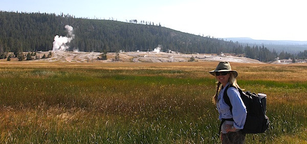 plein air, backpacking, yellowstone