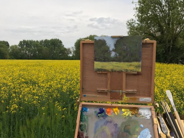 Memories of Giverny and Painting in Monet's Garden