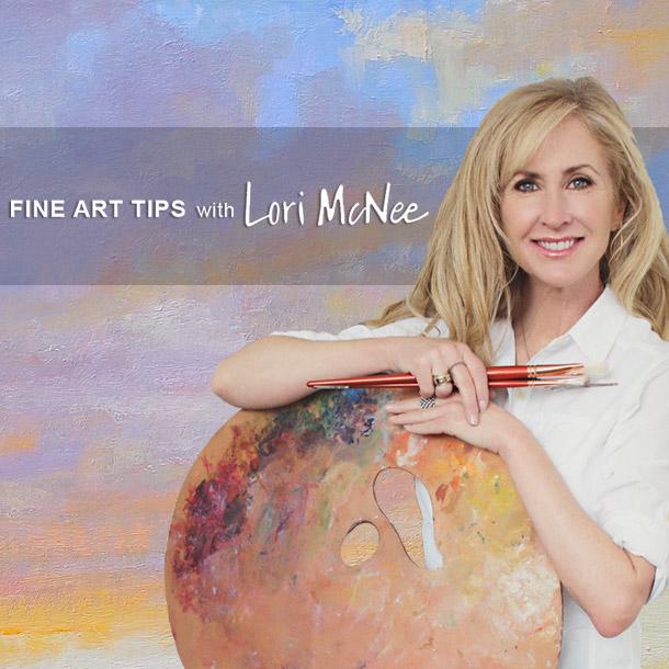 Lori-McNee-Artist-Header-2019-Sunset-on-the-Snake-clouds-backdrop-mobile-version