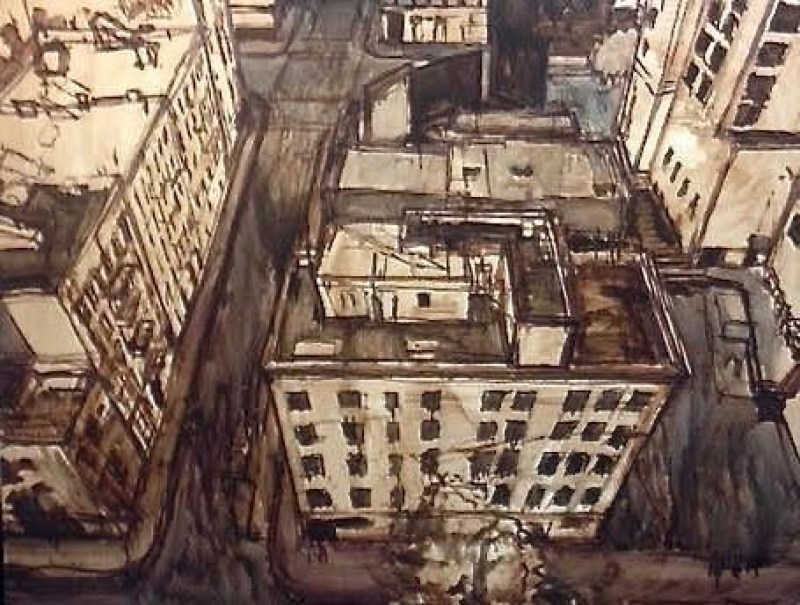 Easy Steps To Painting An Urban Landscape Or Cityscape