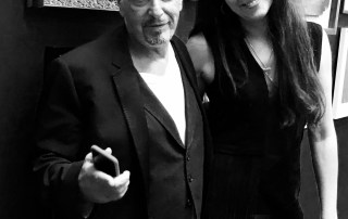 actor Al Pacino with Russian artist Zhenya Gershman