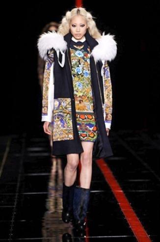 Sweater Dresses Fashion Week Milan