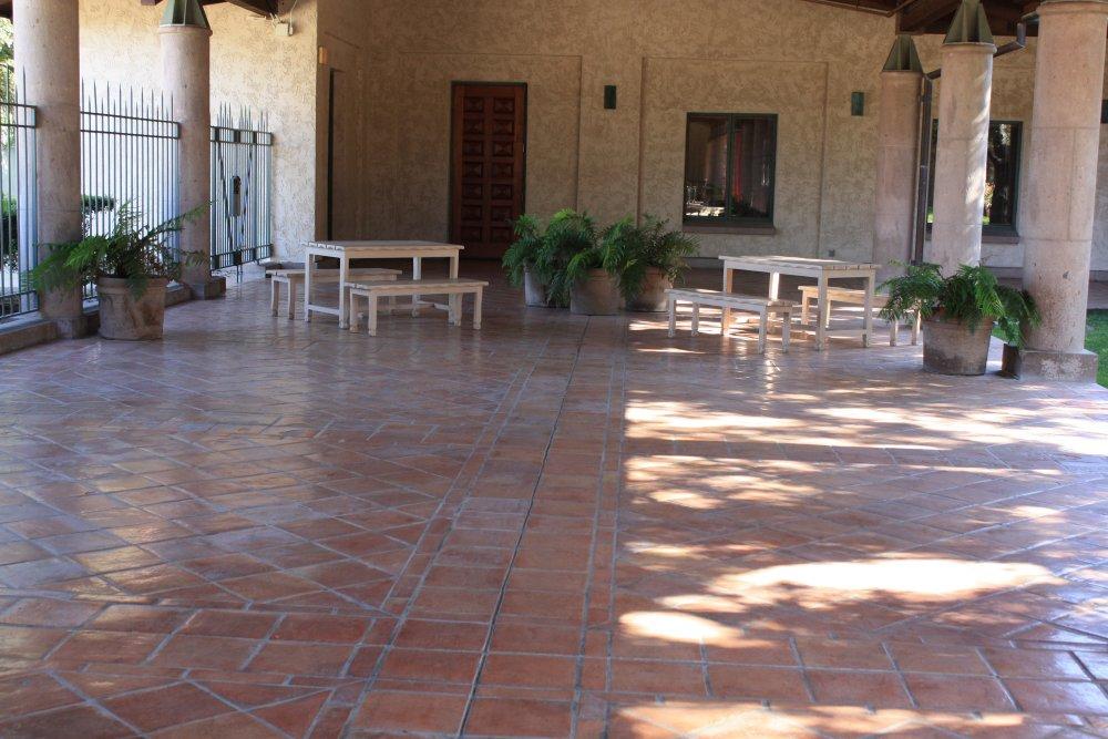 saltillo floor tile mexican home decor