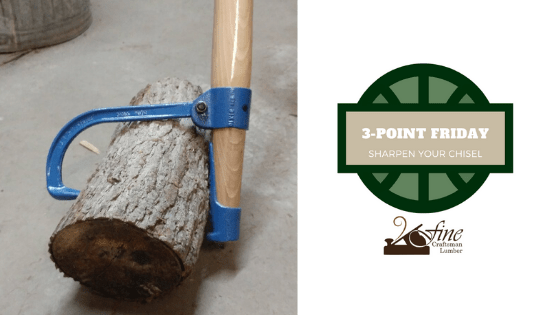 Sharpen Your Chisel: 3-Point Friday 4/10/2020