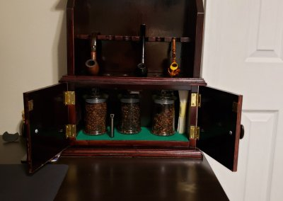 Tobacco Pipe Display by Rich Taylor