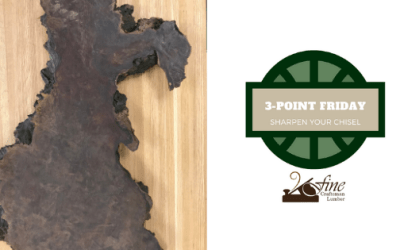 Sharpen Your Chisel: 3-Point Friday 5/15/2020