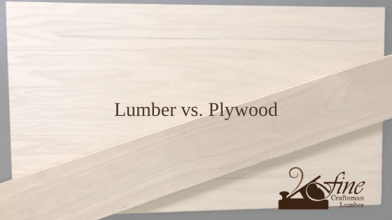 Lumber vs. Plywood