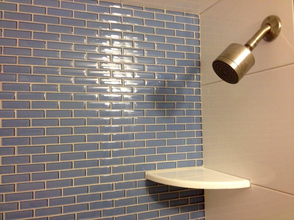 glazzio tiles for contemporary bathroom