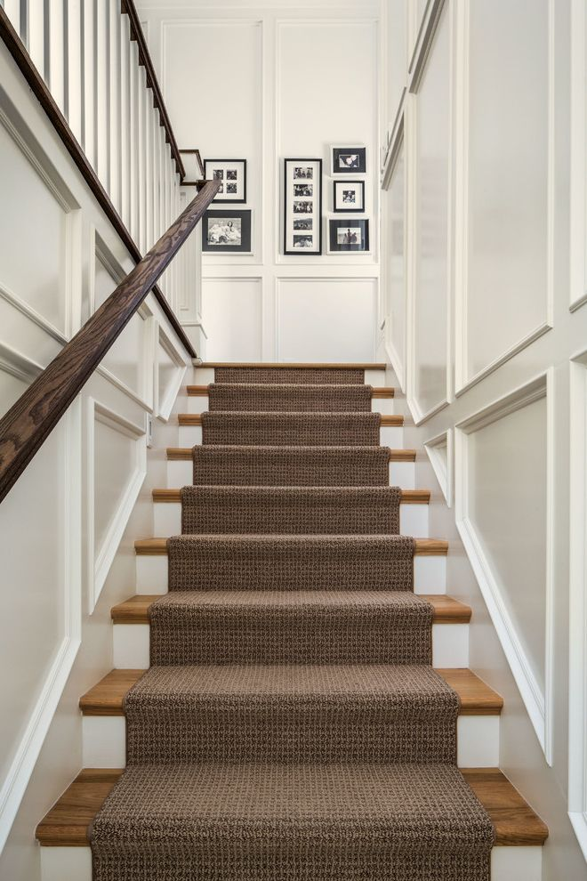 Shaw Carpet Reviews With Traditional Staircase And Black