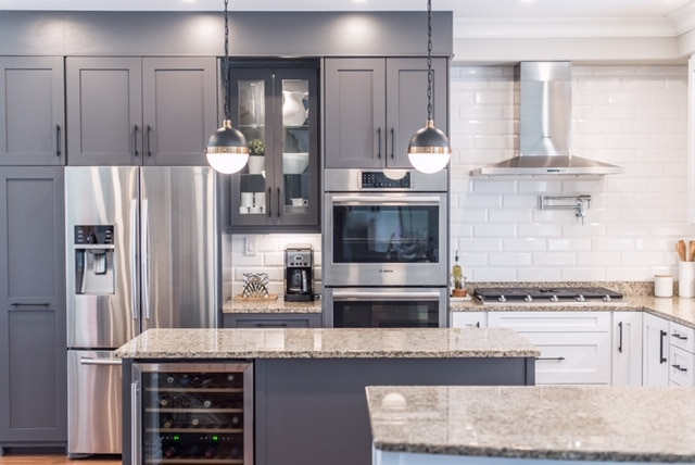 Kitchen Remodel with Repurposed Cabinets