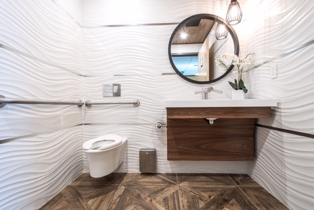 Luxury Commercial Washroom