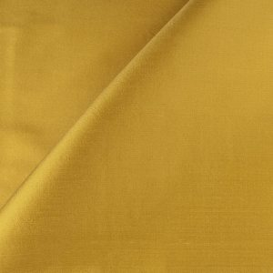 Silk sample in gold color