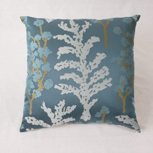 """A contemporary tree cushion in 20"""" x 20"""""""
