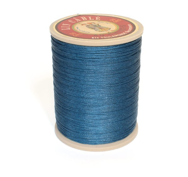 Linen Thread: Blue