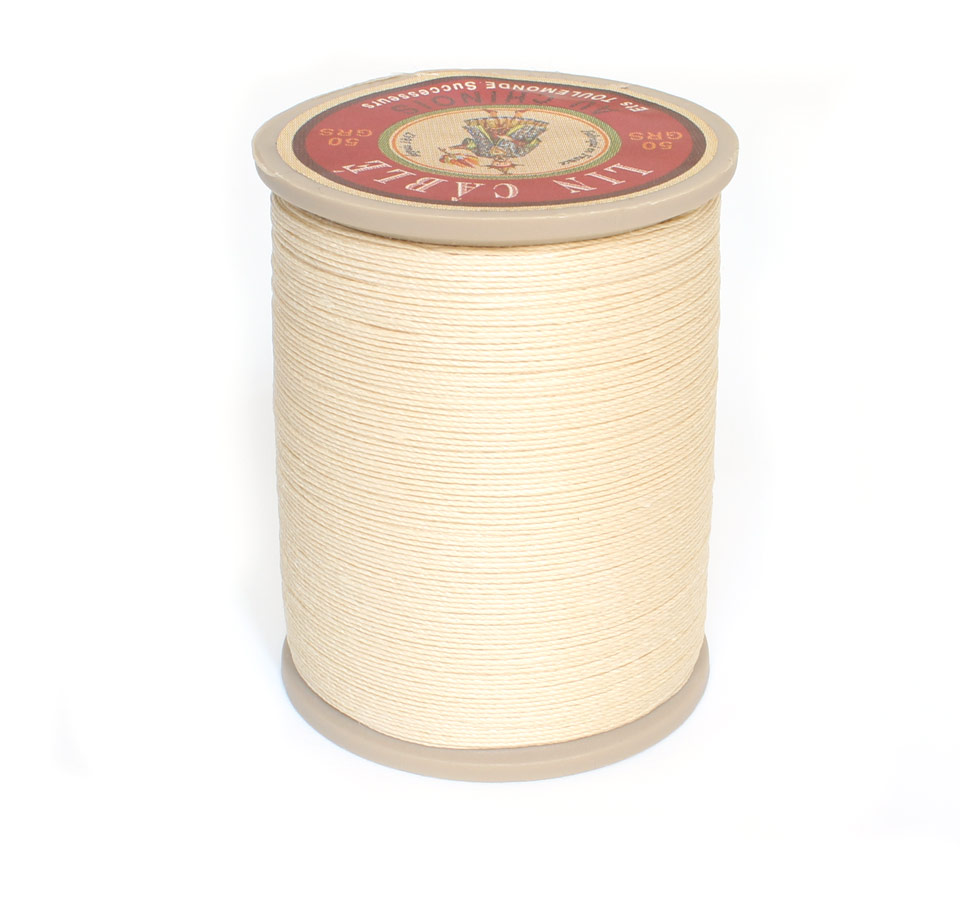 Linen Thread: Ecru