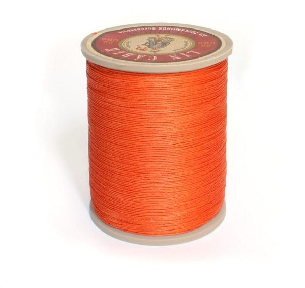 Linen Thread: Orange