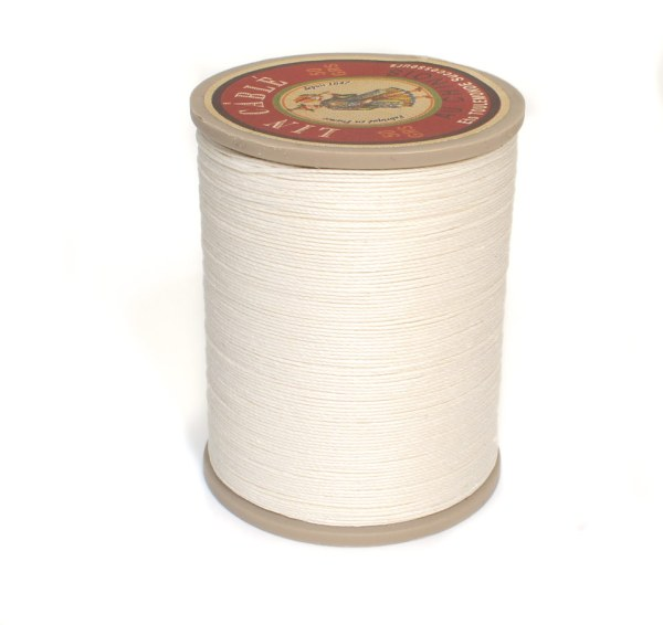 Linen Thread: White