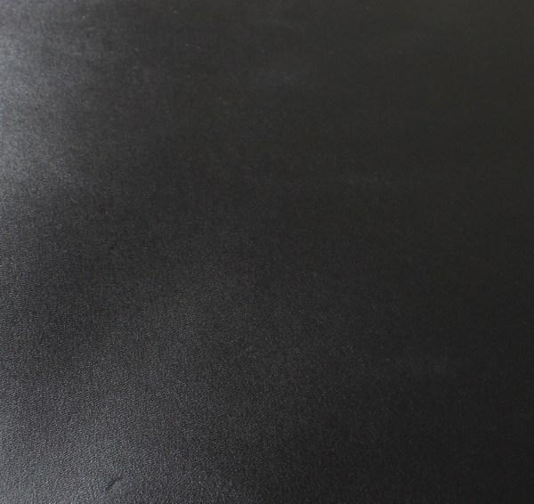 Box Calf Leather: Black