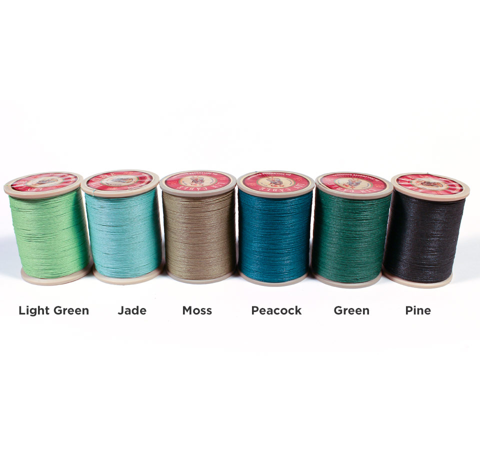 Linen Thread: Pine