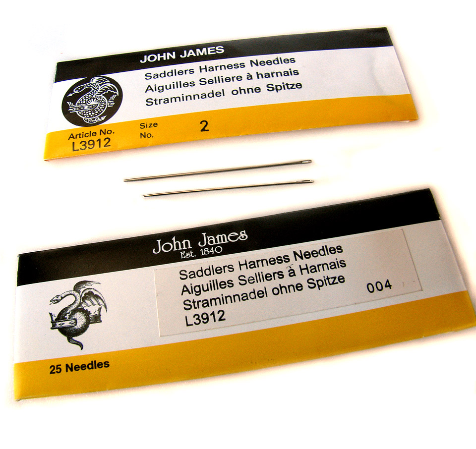 Leather Sewing Harness Needles