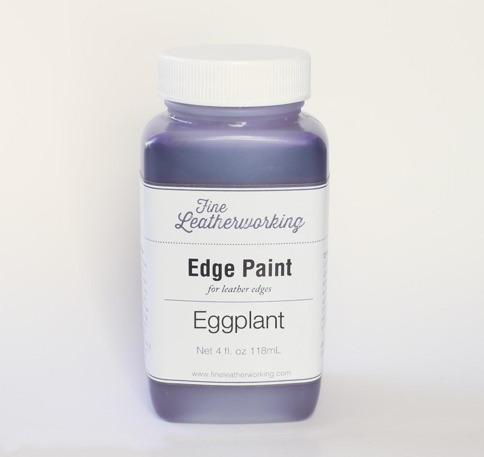 Leather Edge Paint: Eggplant