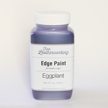 Leather Edge Paint: Eggplant