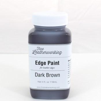 Leather Edge Paint: Dark Brown