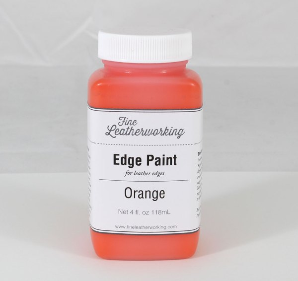 Leather Edge Paint: Orange
