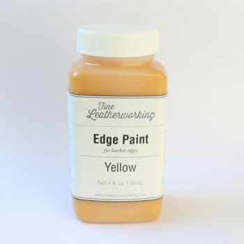 Leather Edge Paint: Yellow