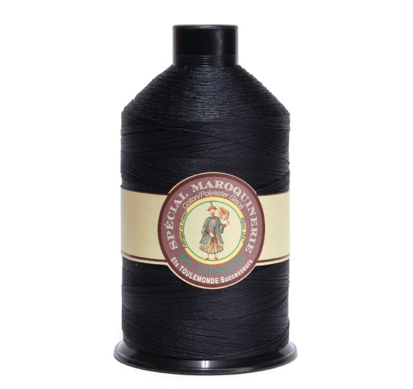 Polycotton Thread: Black