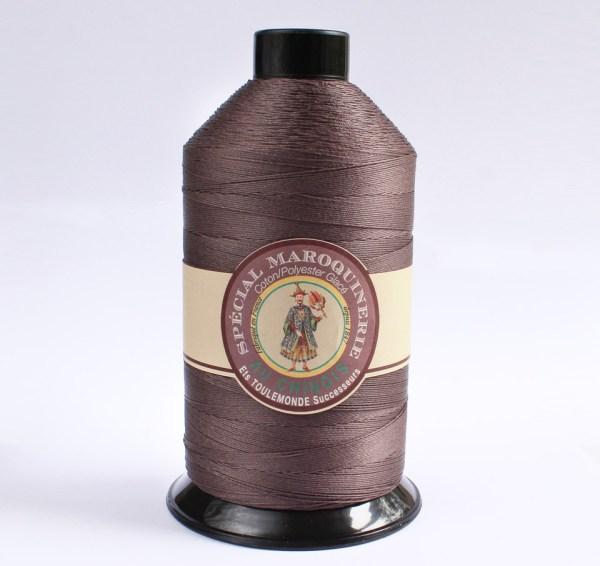 Polycotton Thread: Dark Brown