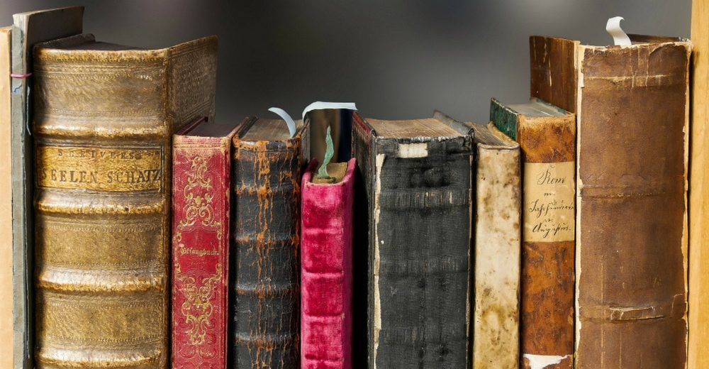 Old Leather Books