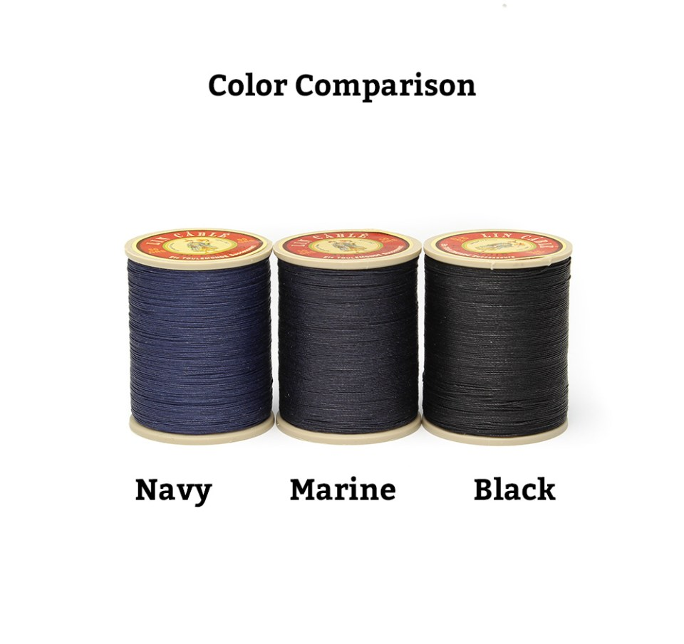 Linen Thread: Marine