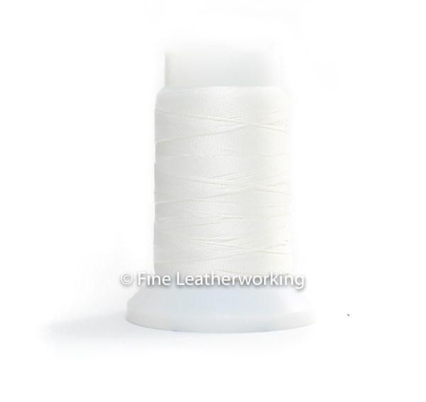 Polyester Thread Size #1: Bright White