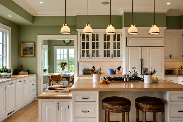 Fine line kitchen designs will take care of all the Painting and Plastering