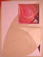 Мечти - живопис, абстрактна картина с маслени бои