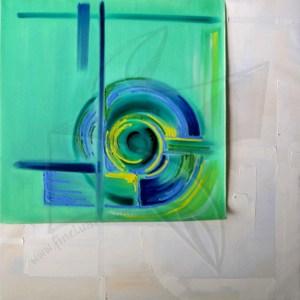 Пластове от монолит І - маслена живопис супрематизъм