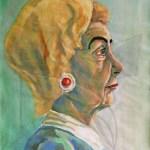 Портрет - живопис с темпера