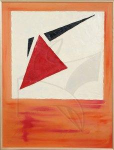 Темперамент - живопис, картина с маслени бои