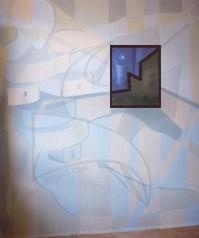 Силуети 1 - стенопис с латекс