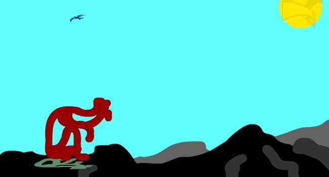Съзерцание – анимация от Любомира Попова Fineluart