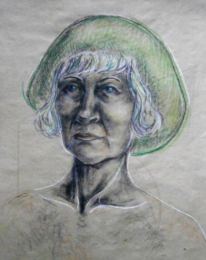 Портрет смесена техника