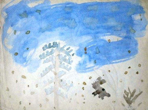детска рисунка от Любомира Попова Fineluart